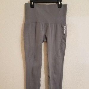 Gymshark gray seamless leggings